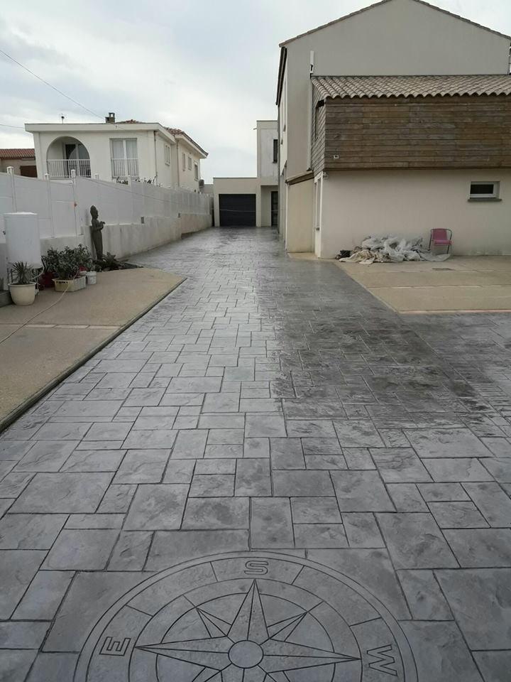 Suelos de cemento impreso awesome concreto hormigon for Cemento impreso madrid
